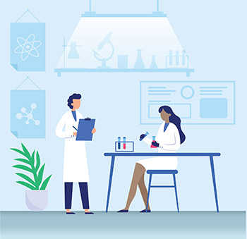 Medical research infographic design for Wake Research